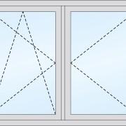 Fenster mit beweglichem Pfahl kipp/dreh + dreh
